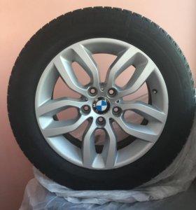 Комплект колес в сборе на БМВ Х3,X4.