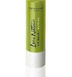 Ухаживающий бальзам для губ с оливковым маслом «Ол