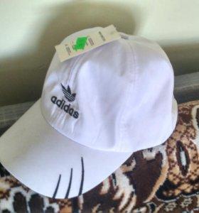 Кепка белая детская Adidas новая