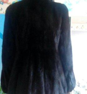 Норковая шуба 44-46 размер