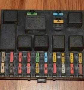 Панель приборов и блок предохранителей