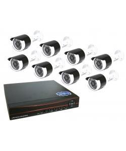 Онлайн видеонаблюдение на 8 камер