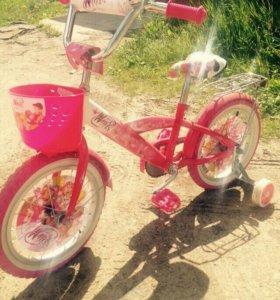 Велосипед для девочки Winx