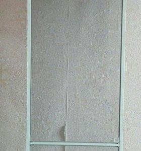 Москитная новая сетка на балконную дверь