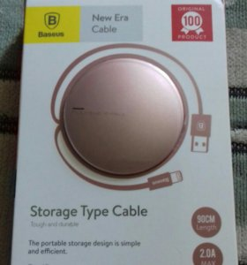 Выдвижной USB кабель для iPhone