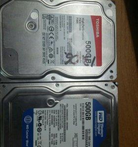Жесткий диск 3,5 дюйма 500gb