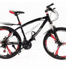 Велосипед мерседес чёрный
