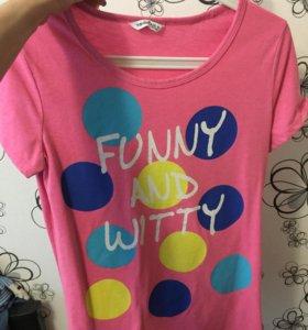 новые фирменные футболки