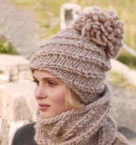 Модные шапочки, шарфы, снуды, митенки и другое)