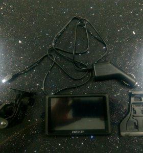GPS навигатор DEXP Auriga DS508