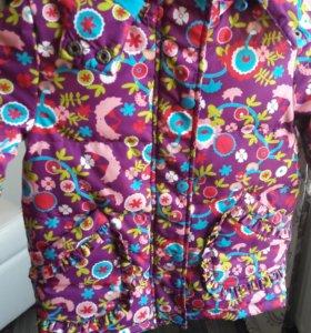 Куртка для девочки 3-6 лет