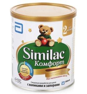 Молочная смесь Similac Комфорт 2 с 6 мес. 375 г
