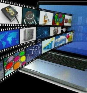 Видеоролик из фото/видео. Подарок на новый год