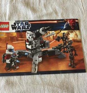 """Лего """"Звёздные Войны"""" 9488"""