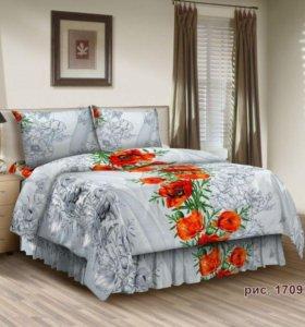 Комплект постельного белья Маки 2 сп