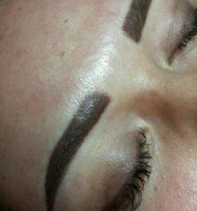 Перманентный макияж  ( нано-напыление )