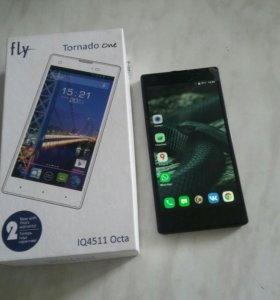 Fly IQ4511 Tornado One Octa LTE