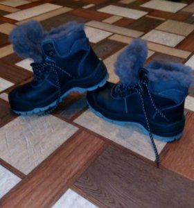 Зимние ботинки р.38