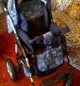 Детская модульная коляска трансформер