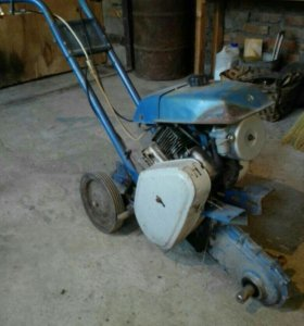 Мотокультиватор - крот