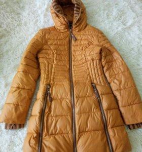 демисезонное пальто р.42
