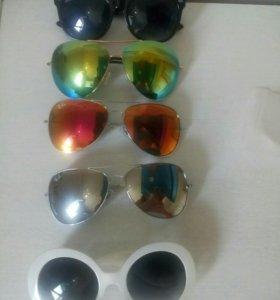 Очки солнцезащитные! Бесплатно!
