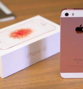 iPhone SE(Rose Gold)16GB
