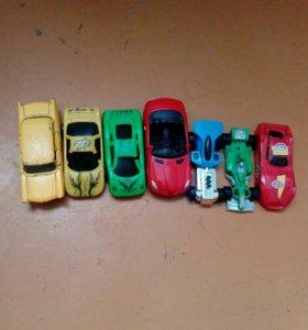 Колекция разных машинок,каждая по 50