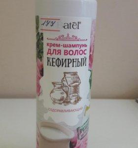Крем-шампунь кефирный