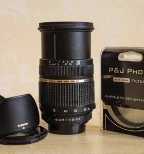 Tamron LD XR Di SP 28-75mm 1:2.8 для Pentax