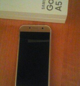 Телефон Samsung A5 2017г