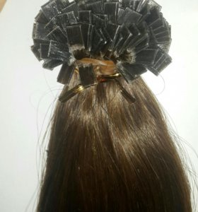 Волосы для наращивания на кератине