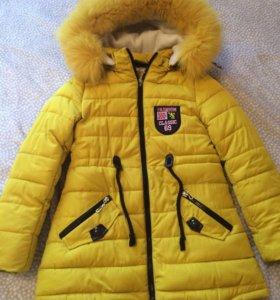 Куртка на девочку 7-10 лет