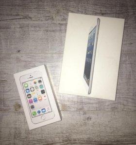 Коробки от iPad и iPhone
