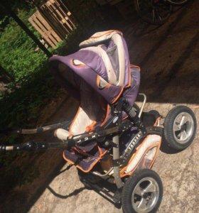 Детская коляска Akjax Traper Lux
