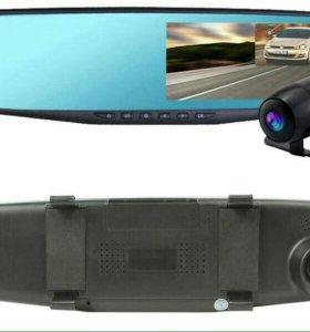 Зеркало видеорегистратор  2 камеры