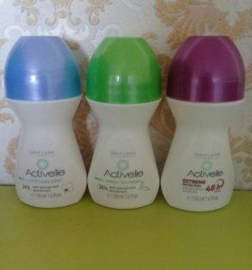 Шариковый дезодорант-антиперспирант