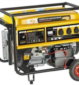 Прокат Генератор бензиновый DENZEL GE 7900E