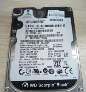 HDD 2,5 250GB