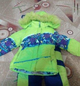 Яркий и тёплый зимний костюм