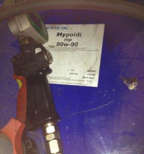 Трансмиссионное масло Neste Hypoidi MP 80W-90