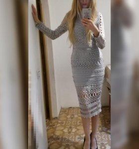 Кружевное платье.торг.