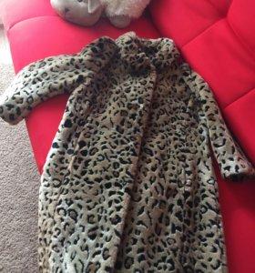 Меховое пальто Кира Пластинина