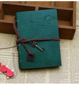 Записные книжки/блокноты в кожаном оформлении