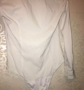 Рубашка белая боди