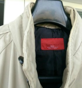 Демисезонное мужское пальто ZARA MAN