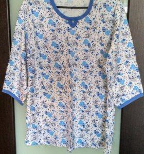 Пижама женская новая 50-52 размер