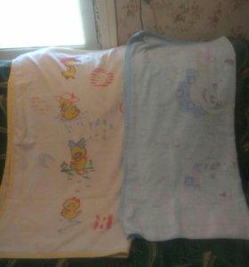 Махровые одеяло( пакетом)