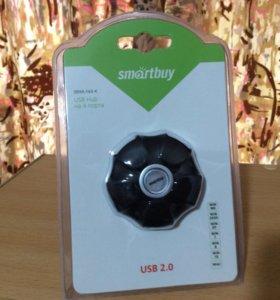 USB. HUB на 4 порта