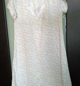 Ночная сорочка женская новая 48 размер